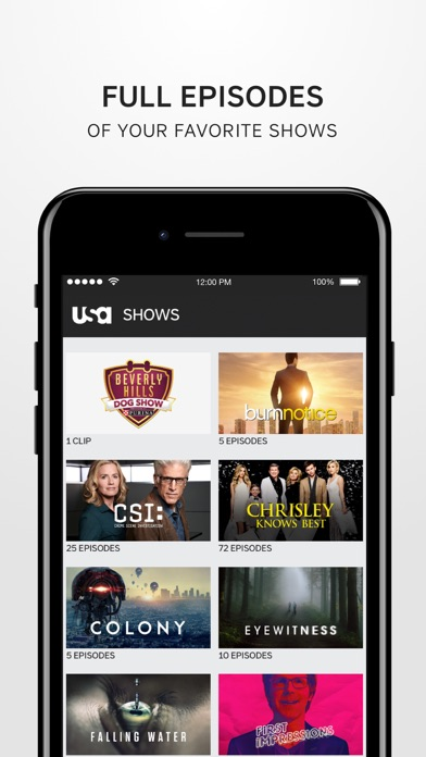 USA Network for Windows