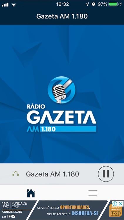 Rádio Gazeta AM 1.180