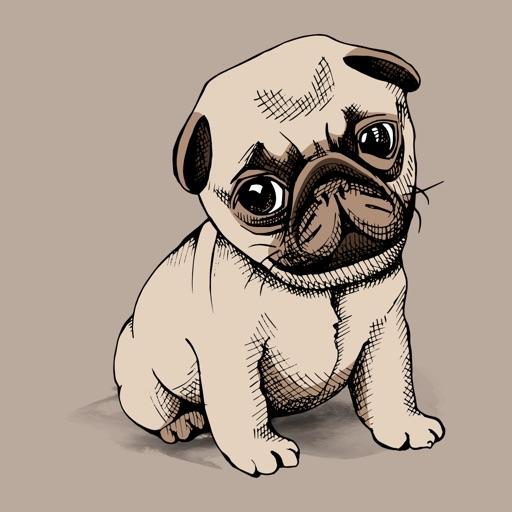 Pug Cute Sweetheart