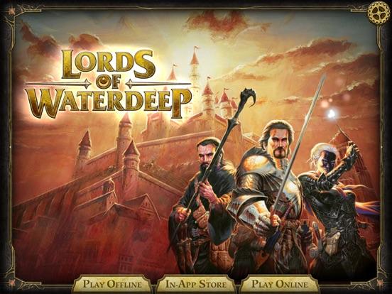 D&D Lords of Waterdeep на iPad