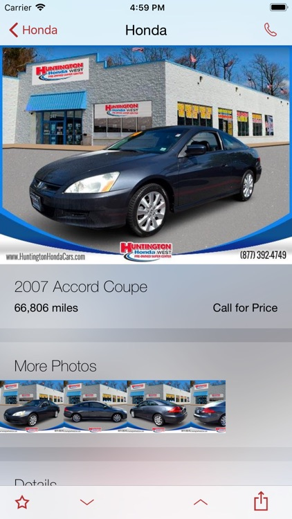 Huntington Honda DealerApp screenshot-2