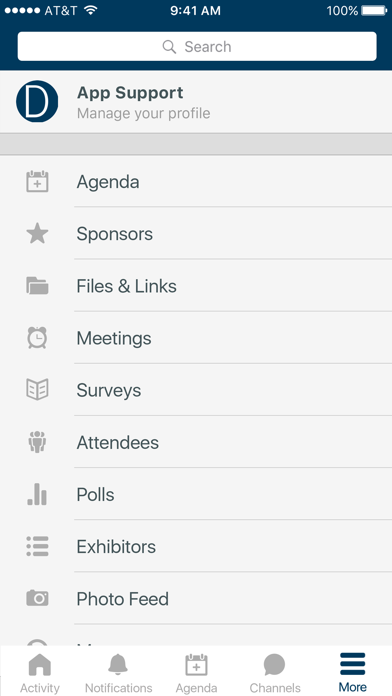 Dechert LLP Events screenshot 2