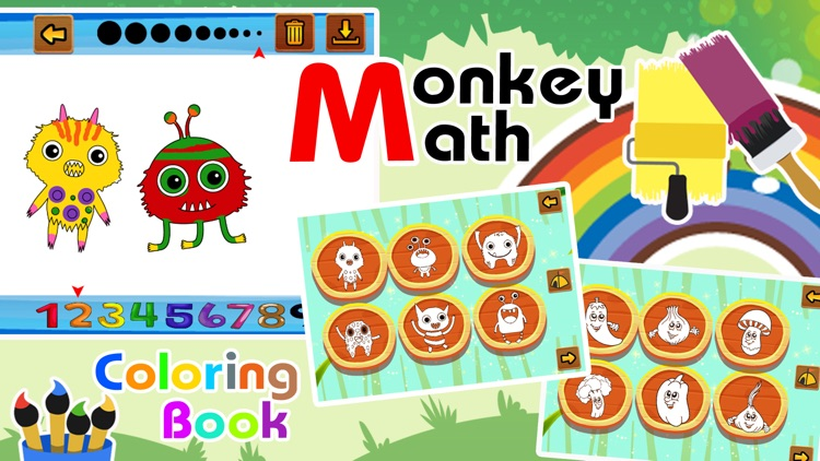 Monkey Run Mathmatics Puzzles screenshot-4
