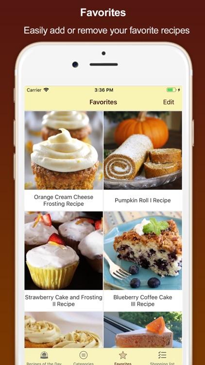 Best Homemade Cake Recipes screenshot-4
