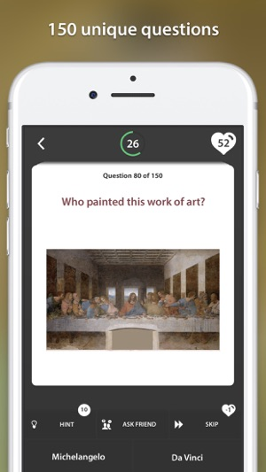 71cbfaf6df Art Challenge  Quiz Game on the App Store