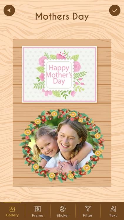 Mother's Day Photo Frame HD screenshot-4