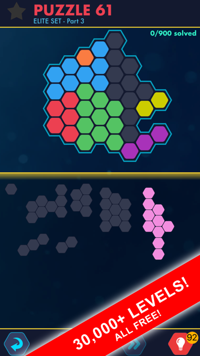 Hexa Block Ultimate! with Spin på PC