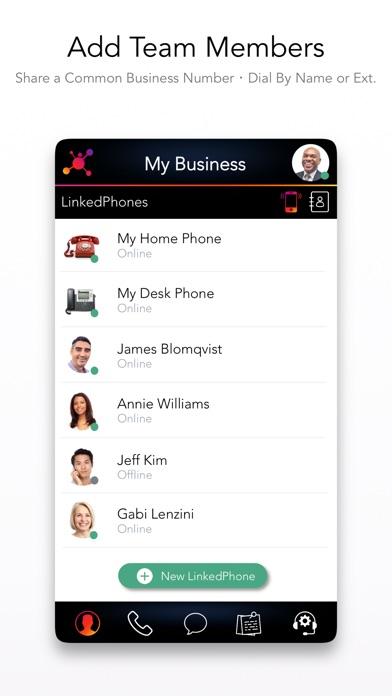 Premium Business Phone Number Screenshot