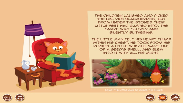 Kid Stories 1 - Read & Play screenshot-4