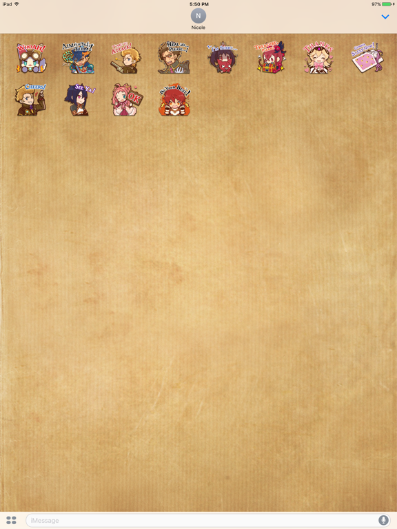The Alchemist Code Stickers screenshot 4