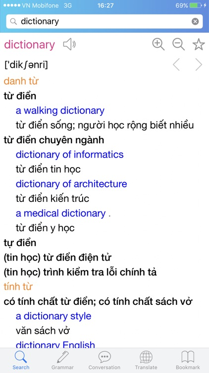 Lac Viet Dictionary: Eng - Vie