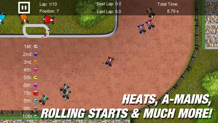 Dirt Racing 2 Sprint Car Game screenshot-4