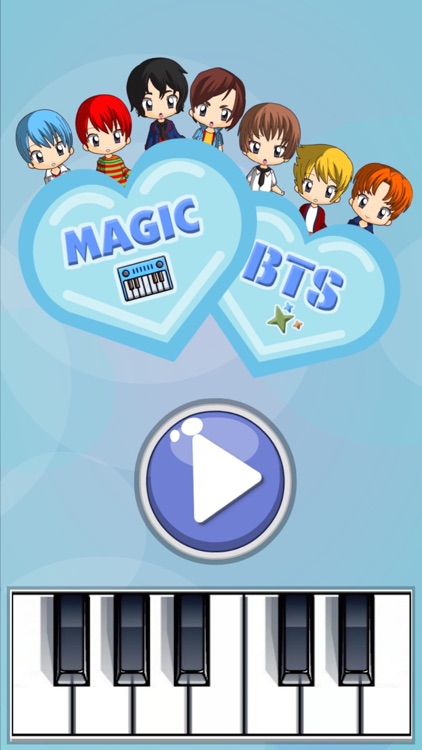 Magic Tiles for BTS