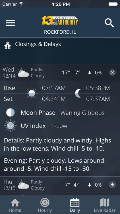 WREX Weather screenshot-3