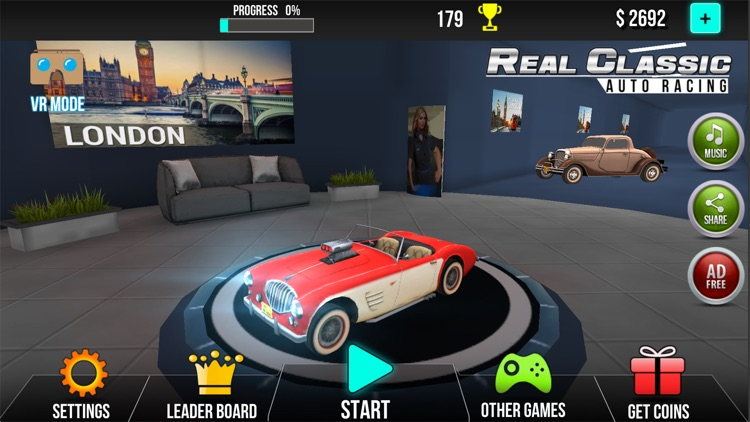 Real Classic Car Racing screenshot-3
