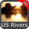US Rivers HD GPS Map Navigator