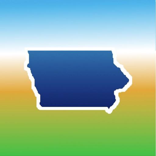 Aqua Map Iowa Lakes GPS