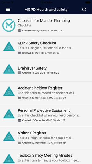 mpgd health and safety on the app store