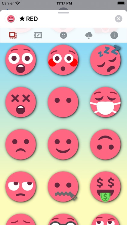 RED Emoji • Stickers screenshot-5