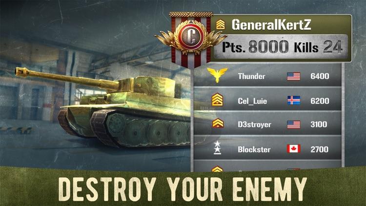 War Machines: 3D Tank Shooting screenshot-4
