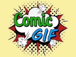 Animated Comic Talk GIF Stickers : Pop Art Chats