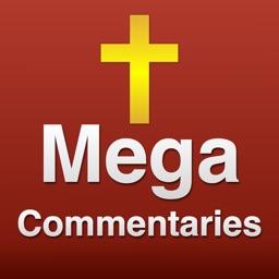 60 Bibles Mega Study Commentaries & Dictionaries