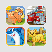 Puzzle Mania - Best Puzzle Bundle for Kids and Toddlers by Tiltan Games