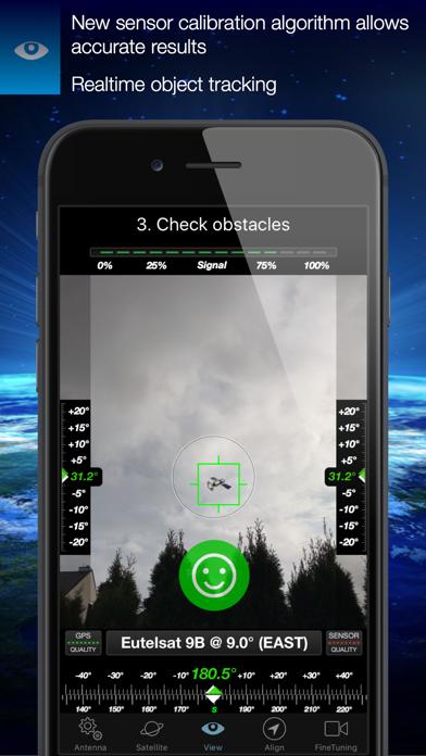 Screenshot for SatFinder in Denmark App Store