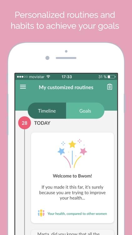 B-wom-The Women's Health Coach