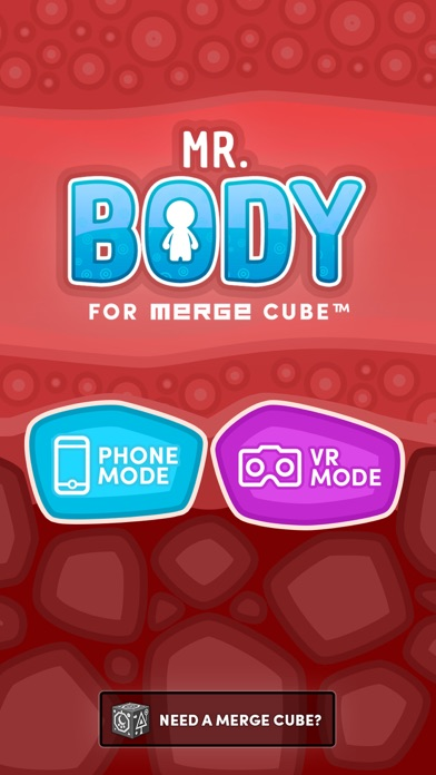 Mr. Body for MERGE Cube