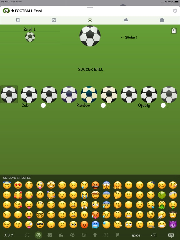 Football Emoji • Stickers screenshot 16