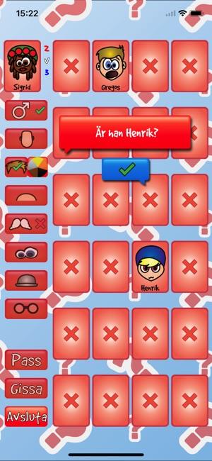 Spel vem där app