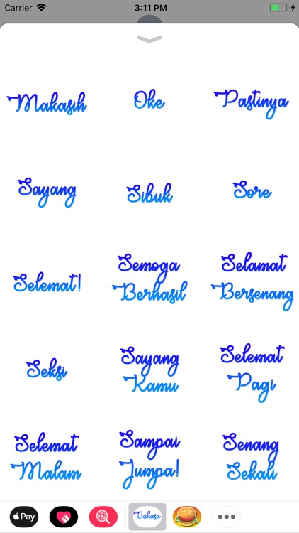 Bahasa Stickers screenshot-3