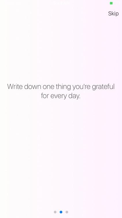 Grateful. A Gratitude Journal