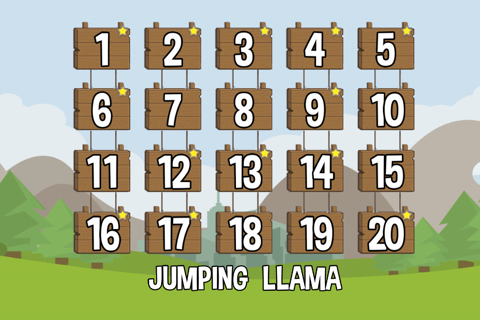 Jumping llama - náhled