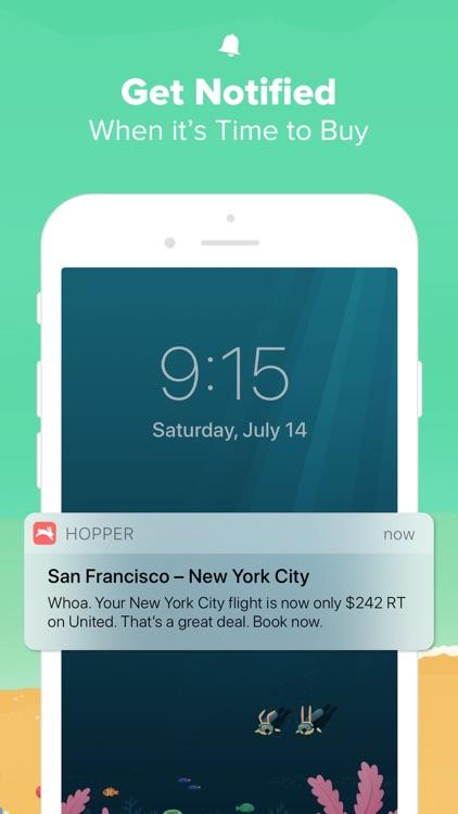 Hopper - Book Flights & Hotels screenshot-3