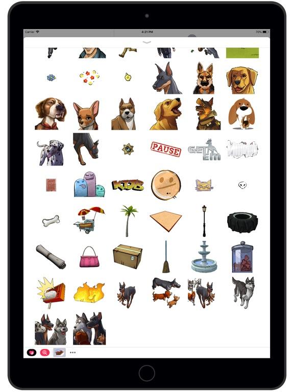 Screenshot #2 for Get 'Em Stickers