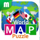 World Map Puzzle for Fun icon