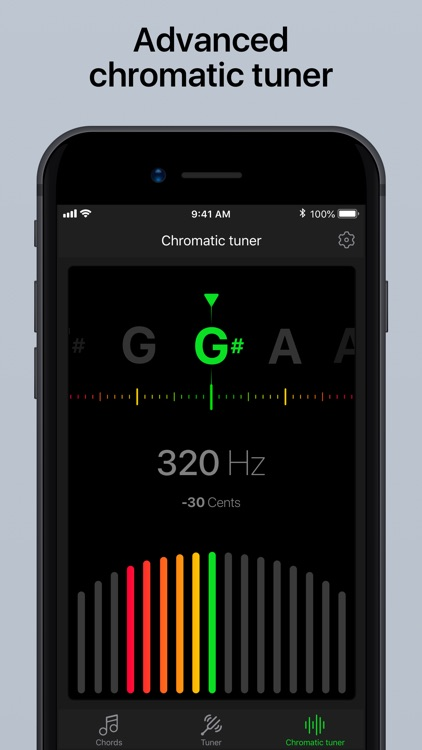 Guitar Tuner Pro, Bass,Ukulele screenshot-1