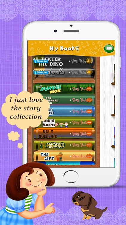 Story Time Interactive reading screenshot-3