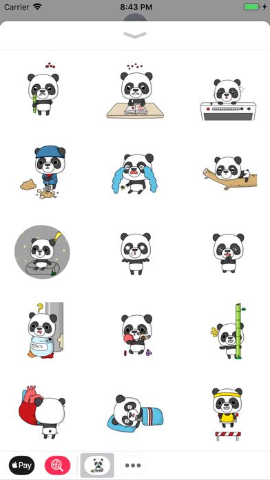 Panda Daily Stickers Pack für PC - Windows 10,8,7 (Deutsch