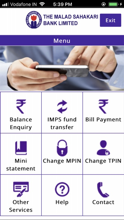 Malad Bank Mobile Banking