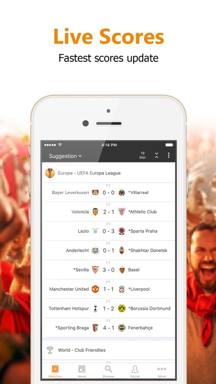 Super Scores - Football Scores