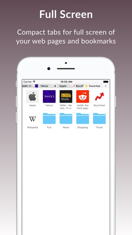 Weex - Web Browser & File Manager screenshot-1