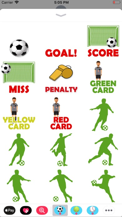Animated Soccer Stickers screenshot 2