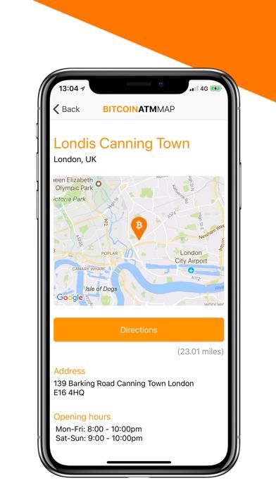Bitcoin ATM Map app