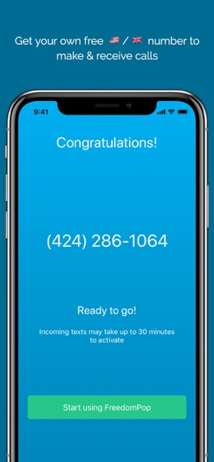 FreedomPop: Calling & Texting on the App Store