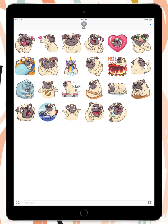Pug Power Stickers | App Price Drops