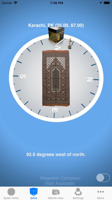 Salah Clock, Prayer & Qiblaのおすすめ画像3