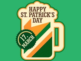St. Patrick's Day Fun Stickers